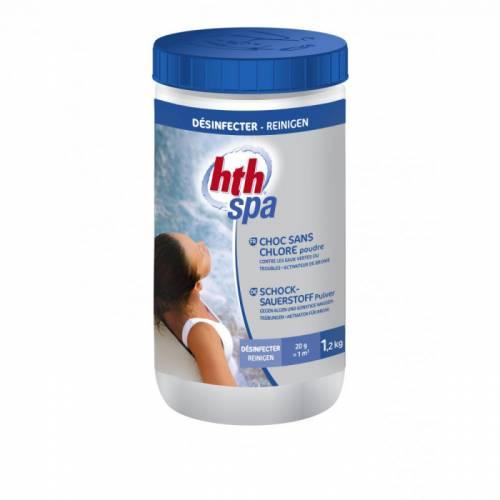 HTH Порошок-шок без хлора, 1,2 кг