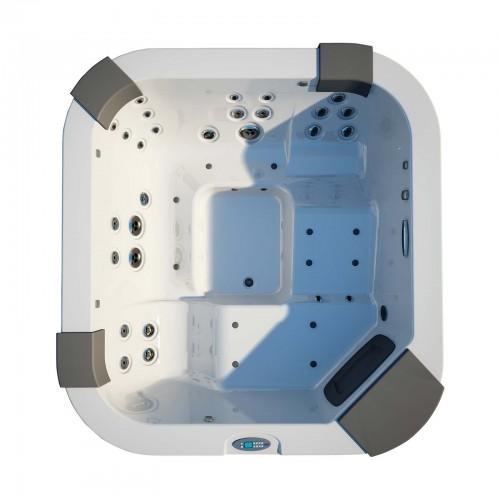 Jacuzzi Santorini Pro СПА бассейн свободностоящий