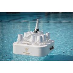 Плавающий стол бар Trona 50х50х15h